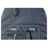 Trzykomorowy plecak szkolny St.Right 27 L, Boho BP6