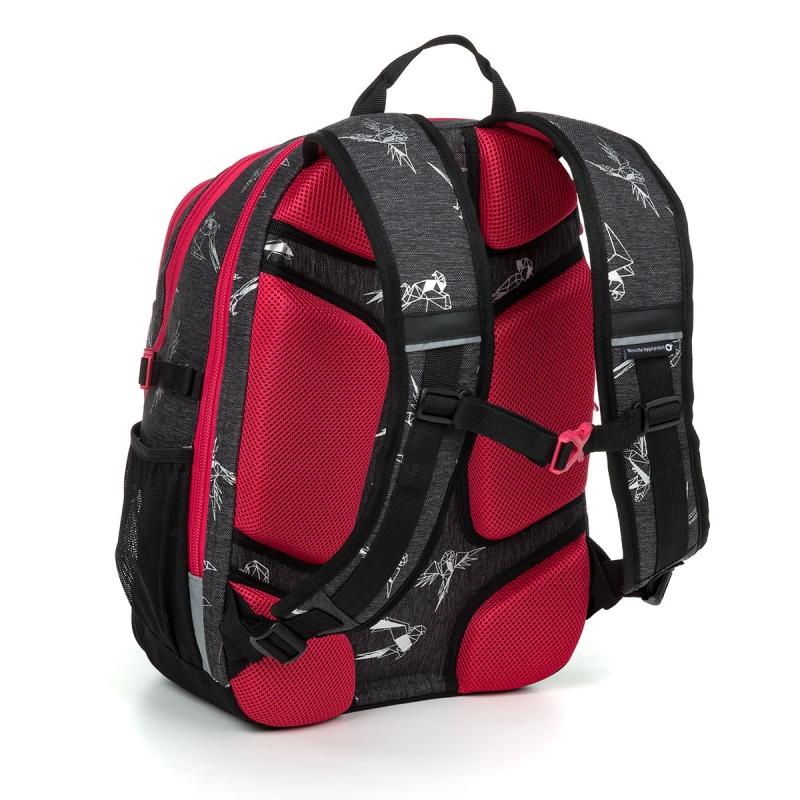 05427f7e47b66 Dwukomorowy plecak młodzieżowy Topgal ROTH 19028