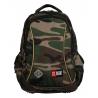Dwukomorowy plecak szkolny St.Right 19 L, Moro BP26