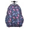 Trzykomorowy plecak na kółkach St.Right 34 L, Indian Feathers TB1