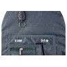 Trzykomorowy plecak szkolny St.Right 29 L, Indian Feathers BP1