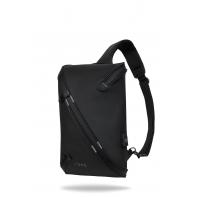 """Plecak męski na tablet 8-12"""" + USB, R-bag Depo Black"""