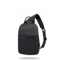 """Plecak męski na tablet 8-12"""" + USB, R-bag Magnet Black"""