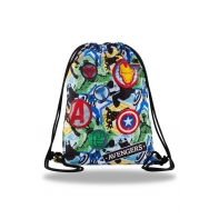 Worek na obuwie Coolpack Disney z kultowym bohaterem Avengers