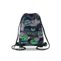Worek na obuwie Coolpack Sprint, Badges Grey B73150