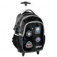 Plecak szkolny na kółkach lekki Paso, NASA