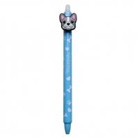 Długopis wymazywalny Colorino BULLDOGS PIESEK, niebieski