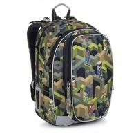 Plecak dwukomorowy dla chłopca Topgal MIRA 20046 MOTYW GRY