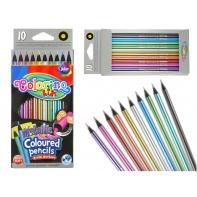 Kredki ołówkowe Colorino METALICZNE 10 kolorów