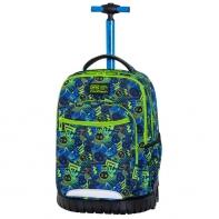 Plecak szkolny na kółkach CoolPack Swift 29 L, Xo Skull C04194