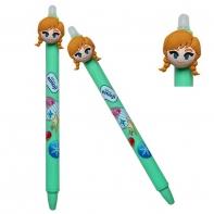Długopis wymazywalny Colorino Disney FROZEN KRAINA LODU ANNA zielony