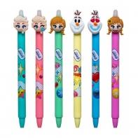 Zestaw 6 sztuk długopisów wymazywalnych Colorino Disney FROZEN KRAINA LODU