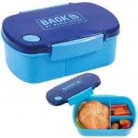 Śniadaniówka BackUP niebieska