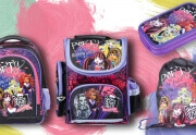 Plecaki szkolne, tornistry i piórniki Monster High